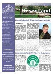 Internationale Grüne Woche 2007 in Berlin - Deutscher ...