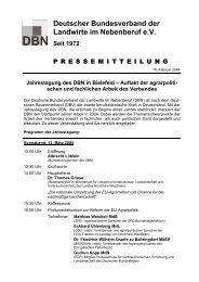 Deutscher Bundesverband der Landwirte im Nebenberuf e.V.