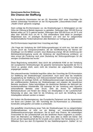 Gemeinsame_Berliner_.. - Deutscher Bundesverband der Landwirte ...