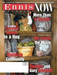 Sondra and Gary Bennett Sondra and Gary ... - Now Magazines