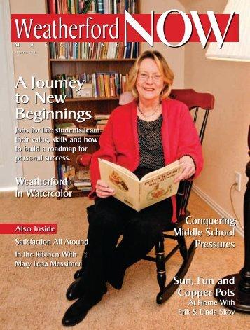 to New Beginnings - Now Magazines