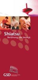 Shiatsu. Berührung, die bewegt.