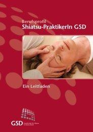 Shiatsu-PraktikerIn GSD