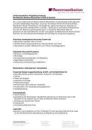 Unternehmenskommunikation für die Diakonie Rantzau-Münsterdorf