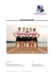 Pressespiegel 2009 - ah kommunikation | Agentur für Public Relations