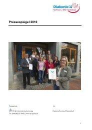 Pressespiegel 2010 - ah kommunikation | Agentur für Public Relations