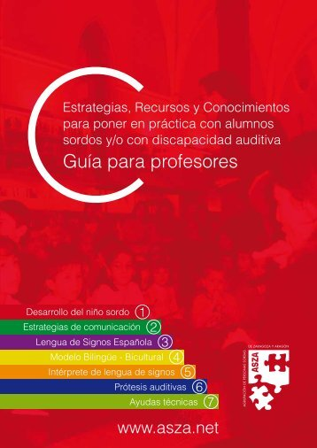 Guia para Profesores con Alumnos Sordos ASZA - COPOE