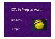 Prep Bee-Bots