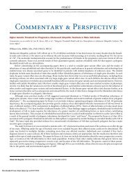 Higher Genetic Threshold for Progressive Adolescent Idiopathic ...