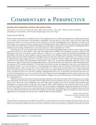 Commentary & Perspective - The Journal of Bone & Joint Surgery