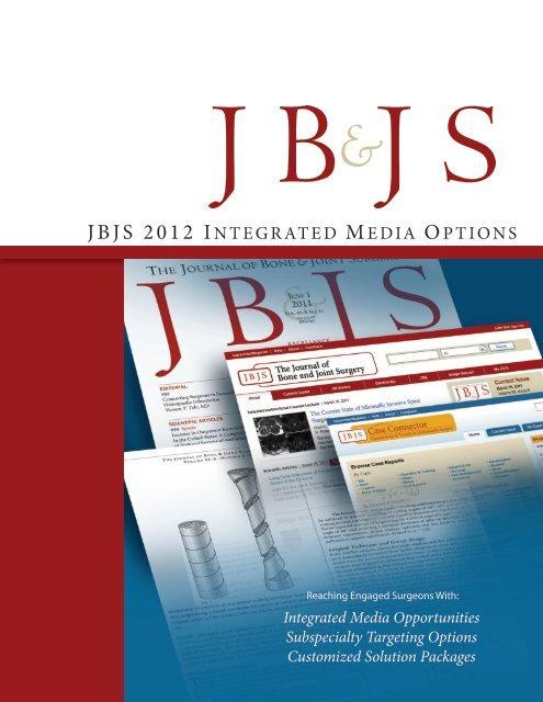 Jbjs 2012 i - The Journal of Bone & Joint Surgery