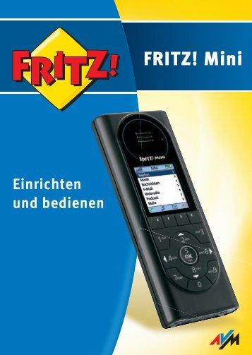 AVM FRITZ!Mini - Ihr kostenloser Internet-Telefonanschluss.