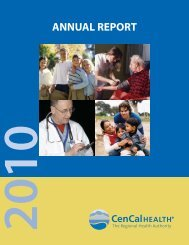 Provider - CenCal Health
