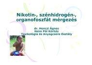 03. Nikotin-, szénhidrogén-, organofoszfát mérgezés - Heim Pál ...