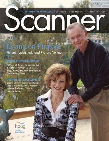 Judy & Richard Voltmer Sleep Center - the Hoag Hospital Foundation