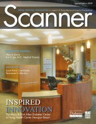 Scanner Special Edition 2009 - the Hoag Hospital Foundation