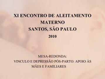 Sintomas de depressão pós-parto e interrupção ... - IBFAN Brasil