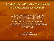 Amamentar entre as mães cegas MARCIA MACHADO - IBFAN Brasil