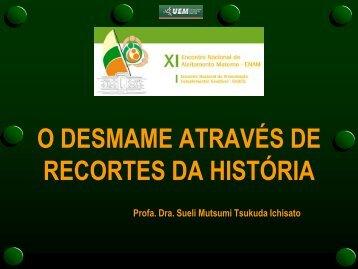 Desmame precoce através da história SUELI ICHISATO - IBFAN Brasil
