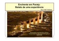 Enchente em Paraty: Relato de uma experiência