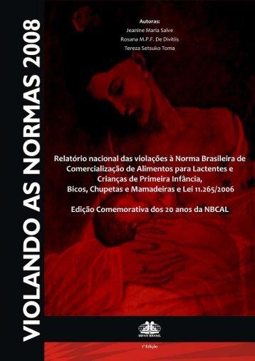 Parte I Norma Brasileira de Comercialização de ... - IBFAN Brasil