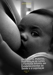 Aleitamento Materno, Distribuição de Leites e Fórmulas Infantis em ...