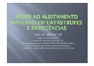 Emergência em Santa Catarina: relato de experiência