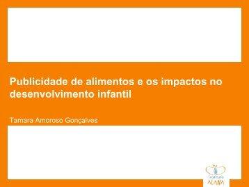 Publicidade de alimentos e os impactos no ... - IBFAN Brasil