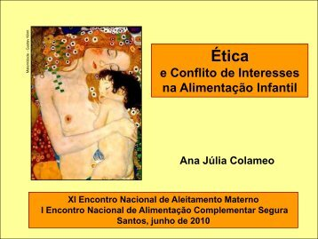 Ética e Conflitos de Interesse - Ana Julia Colameo - IBFAN Brasil