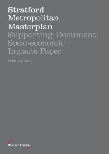 Stratford Masterplan: Socio-economic impact paper - Newham