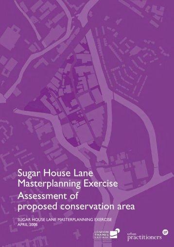 Sugar House Lane heritage assessment - Newham