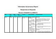 February 2013 FOI disclosure log - Newham