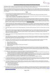 standard terms and conditions for low-value purchases - Newham