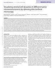Egeblad et al. Dis. Model. Mech 2008 - Departments of Pathology ...