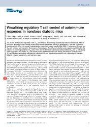 Tang et al. Nature Immunology. 2006 - Departments of Pathology ...