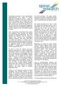 Epigenetics and Stress - Australian Spinal Research Foundation - Page 2
