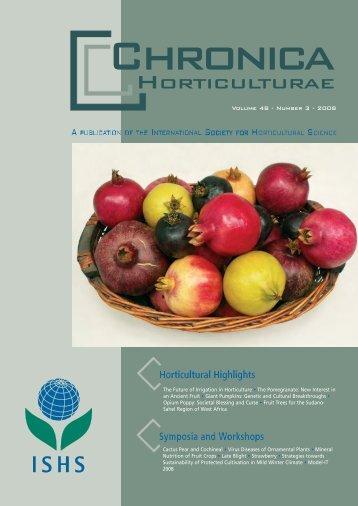 chroni nr. 3 08 - Acta Horticulturae