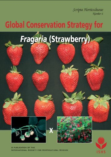 Global Conservation Strategy for - Acta Horticulturae
