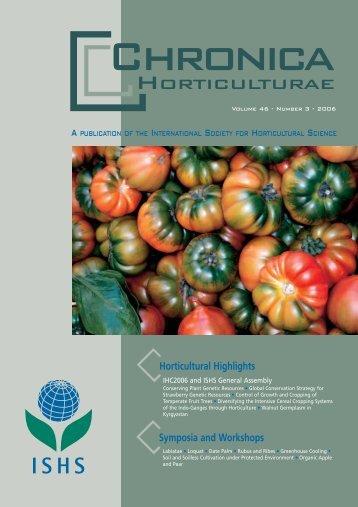 Acta Horticulturae