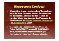microscopia confocal - programa de pós-graduação em fisiocirurgia