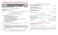 Christmas Eve Candlelight Holy Communion (Monday, December 24)