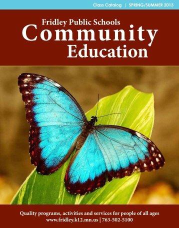 Education - Fridley Public Schools