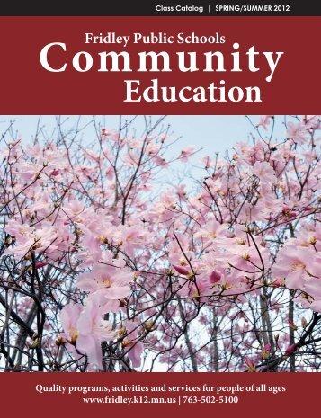 Community - Fridley Public Schools