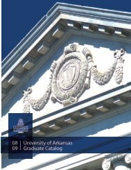 2008-2009 Graduate Catalog - Catalog of Studies - University of ...