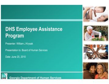 DHS Employee Assistance Program - Department of Human Services