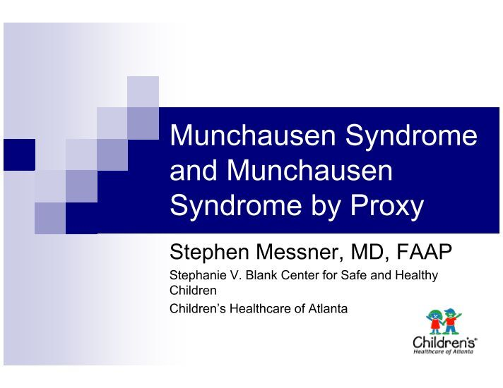 hypochondriasis and munchausen by proxy essay