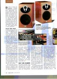 Testbericht Audio Majik 109 - Linn