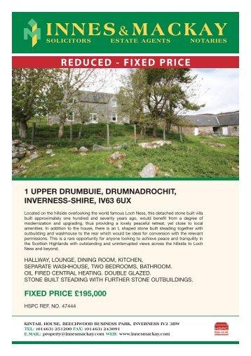 1 upper drumbuie, drumnadrochit, inverness-shire, iv63 6ux - HSPC