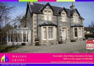 Riversdale, Grant Road, Grantown On Spey Offers in the ... - HSPC