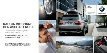 tolles design, hohe alltagstauglichkeit und erstklassiger ... - BMW